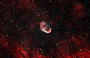 NGC6888 the Crescent Nebula in Cygnus HOO